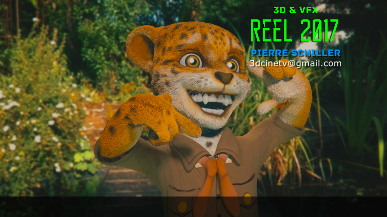 3D and VFX reel 2017